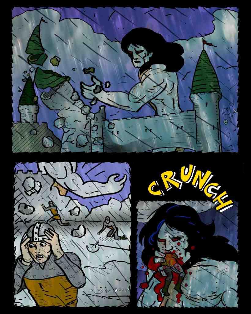 The Maniac: From the Fires of Hell - Chapter 8 page 17